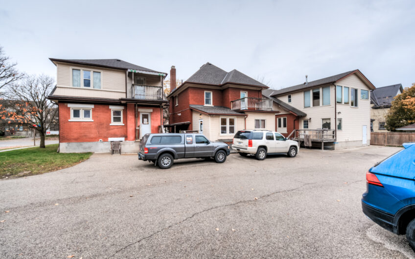 277, 275 and 271 Frederick Street, Kitchener